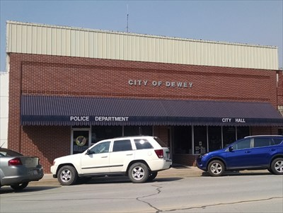 """Dewey, OK, by MountainWoods.  Just 3 weeks prior to this day we had traded in my old 2001 Rav4, with over 322,600 miles on it, for a new Rav4, as seen on the right.  Toyota calls the color """"blue crush""""."""