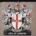 Image for City of London Coat-of-Arms - Fye Foot Lane, London, UK