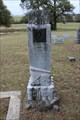 Image for W.F. Ashton - Tage Cemetery - Montague County, TX