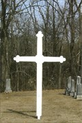 Image for Cedron Catholic Church Cemetery Cross - Cedron, MO