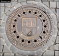 Image for Manhole cover in Prague's historic centre (Prague)