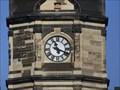 Image for Church clock Michaelischurch Leipzig, Saxony, Germany