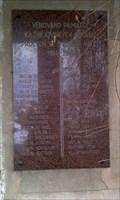 Image for Plaque to Victims of the World War I, Kaznejov, CZ, EU