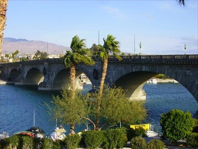 london bridge lake havasu. The London Bridge at Lake