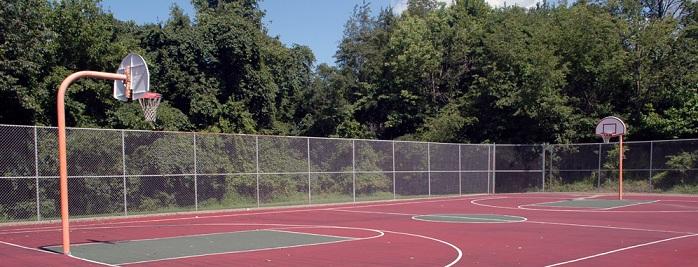 Genial Hawkeye Park Basketball Court   Monroeville, Pennsylvania