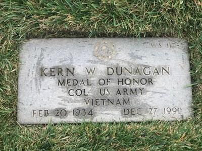 Kern W. Dunagan, San Francisco National Cemetery