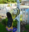 Image for Queen Bee Mailbox - Story Garden, Discovery Center, Binghamton, NY
