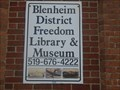 Image for Blenheim Freedom Library - Blenheim, Ontario