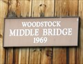 Image for Middle Bridge - 1969 - Woodstock, VT