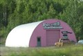 Image for Pink Quonset Hut, Tew's Transmission, Big Lake AK