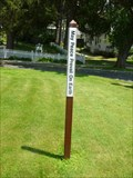 Image for Lee Congregational Church Peace Pole - Lee, MA