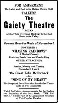 Image for The Gaiety Theatre - Ronan, Montana