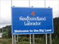 Image for Québec - -  Newfoundland and Labrador Border Crossing