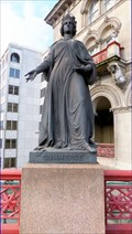 "Image for ""Commerce"" Statue - Holborn Viaduct, London, UK"