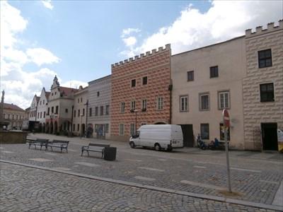 Renezancní meštanské domy Slavonic