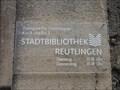 Image for Stadtbibliothek Reutlingen - Zweigstelle Gönningen, Germany, BW