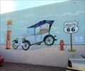 Image for Service Station Mural - Holbrook, Arizona, USA.