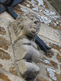 Image for Chimera Faces - All Saints Church, Isham Road, Pytchley, Northamptonshire, UK