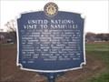 Image for United Nations Visit to Nashville - Historical Commission of Metropolitan Nashville and Davidson County