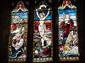 Image for Nativity, Crucifixion and Resurrection - Saint Barrwg - Bedwas, Caerphily, Wales.