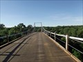 Image for LAST Texas Suspension Bridge Open to Automobile Traffic