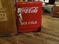 Image for Coca Cola Soda Cooler- Cracker Barrel-Manchester, TN