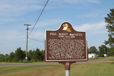 paul bouet laffitte mansfield la louisiana historical markers on. Black Bedroom Furniture Sets. Home Design Ideas