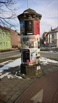 Image for Advertising column Brezinova, Krnov, Czech Republic.