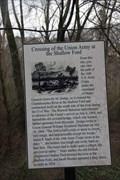 Image for Crossing of the Union Army at the Shallow Ford - Fulton Co., GA