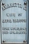 Image for Amaretta C. Mason - Philipsburg, MT
