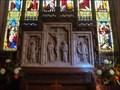 Image for Reredos - Parish Church of All Saints - Sudbury, Ashbourne, Derbyshire, England, UK.