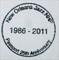 Image for New Orleans Jazz NHP - 25th Anniversary Stamp