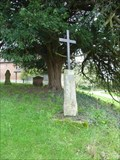 Image for Churchyard Cross, St Nicholas, Warndon Villages, Worcestershire, England