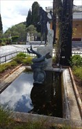 Image for Fountain in the back yard of Achilleion Palace - Gastouri, Corfu, Greece