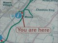 "Image for ""You Are Here"" At Moore Village on Bridgewater Canal - Moore, UK"