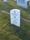George Matthew Shelton, Sr Stone From the Right, San Francisco National Cemetery