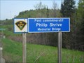 Image for Sr. Const. Phillip Shrive Memorial Bridge - Renfrew, Ontario, Canada