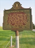 Image for Mile Stones and An Early Turnpike, Bardstown, Kentucky