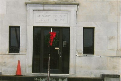 and entrance to courthouse