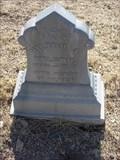 Image for Milton A. Wilson - Arizona Pioneers' Home Cemetery  - Prescott, Arizona, USA