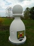 Image for Karlštejnské šachy (15) - bílý pešec / Chess of Karlstein castle - white pawn (Tachlovice, Czech Republic)