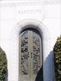 Image for Randolph family mausoleum - Woodlawn Cemetery - Toledo,Ohio