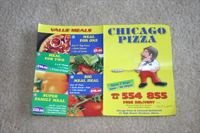 Chicago Pizza Pershore Uk Takeout Delivery Menus On