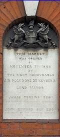 Image for Market Building Opening - Smithfield, London, UK
