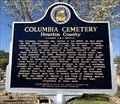 Image for Columbia Cemetery - Columbia, Alabama