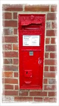 Image for Victorian Post Box - Old Valley Road, Barham, Kent.