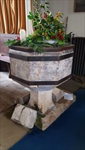 Image for Baptism Font - Holy Trinity - Blacktoft, East Riding of Yorkshire