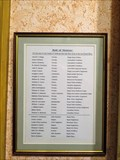 Image for Roll of Honour - Andreas, Isle of Man