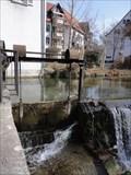 Image for Sluice Gate Alte Mühle Reutlingen, Germany, BW