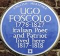 Image for Ugo Foscolo - Edwardes Square, London, UK